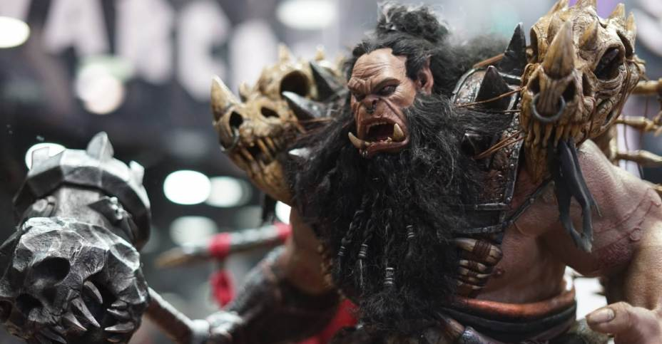New DAMTOYS Warcraft Movie Statues