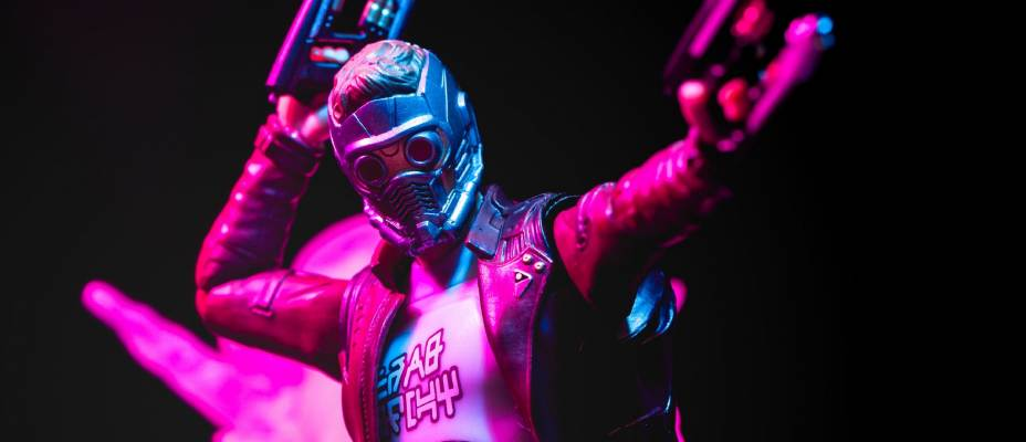 S.H. Figuarts Star Lord with Explosion Set Photo Review