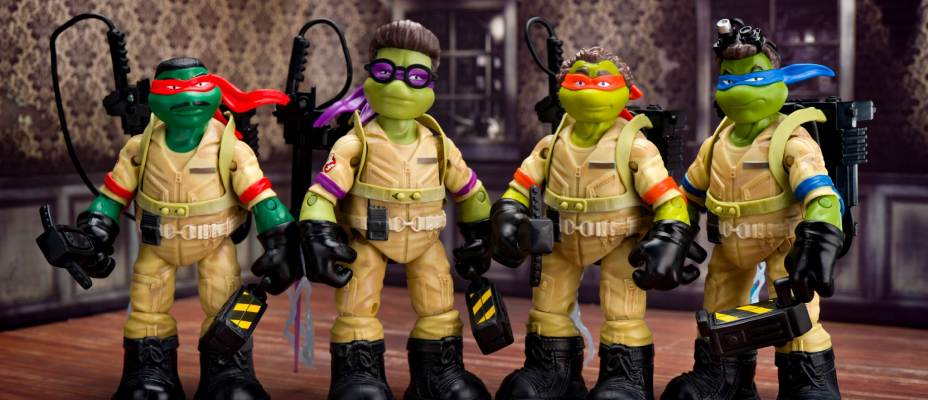 TMNT x Ghostbusters Figures from Playmates Photo Review