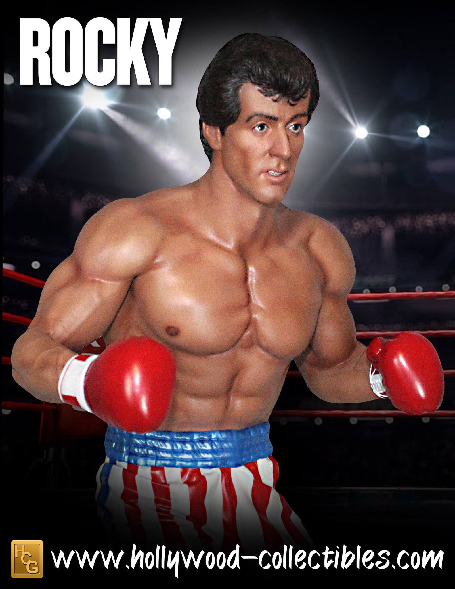 Rocky Statue by Hollywood Collectibles