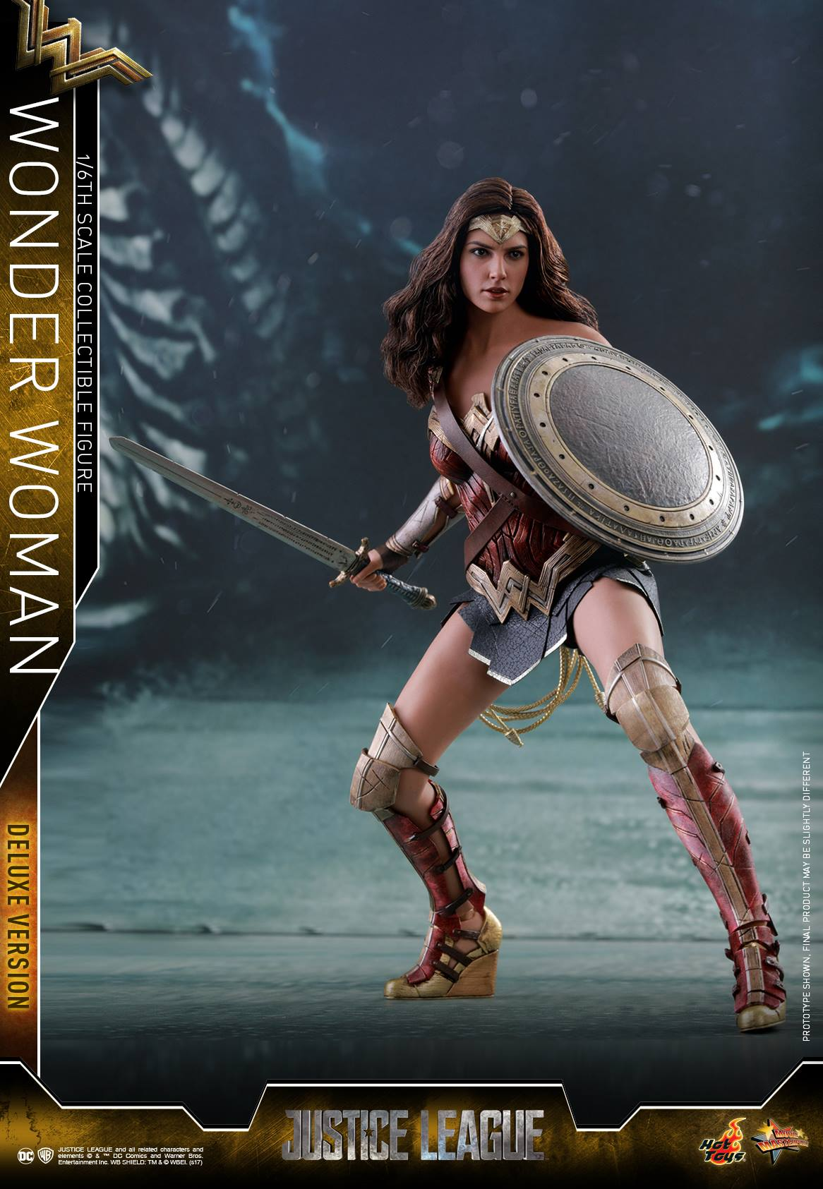 justice league wonder woman 16 scale figures by hot toys