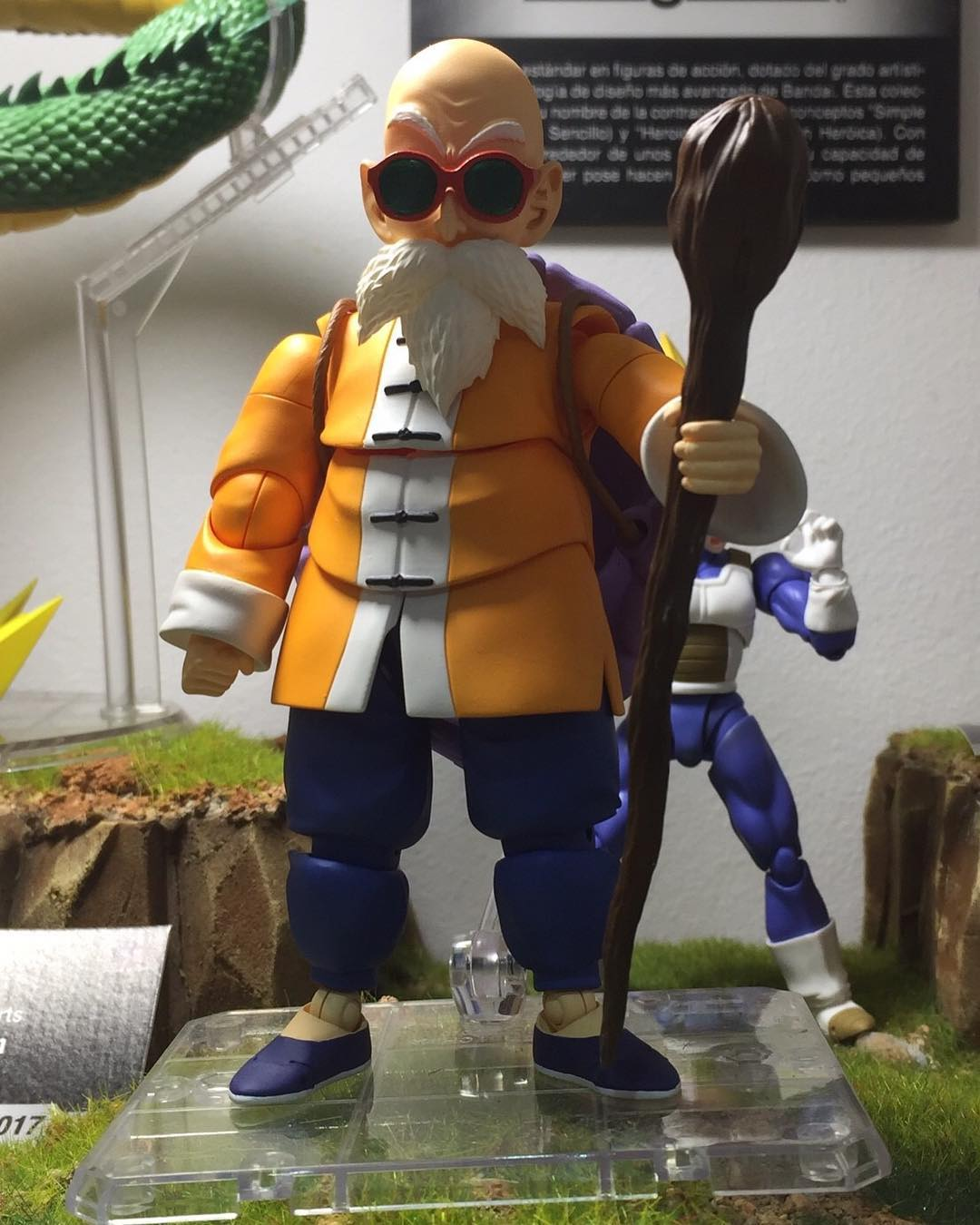 Master Roshi S.H. Figuarts Dragonball Figure Revealed
