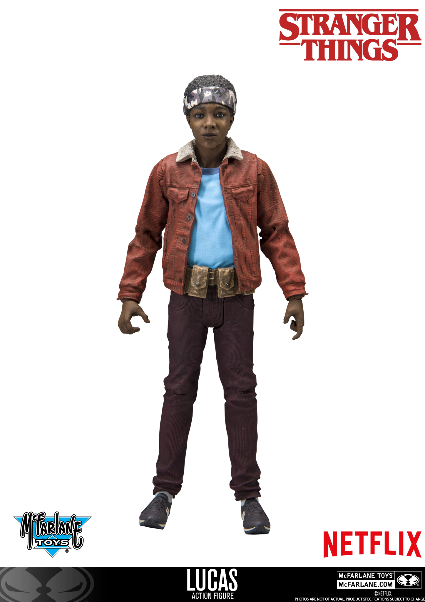 Stranger Things Toys : Mcfarlane stranger things lucas revealed the toyark news