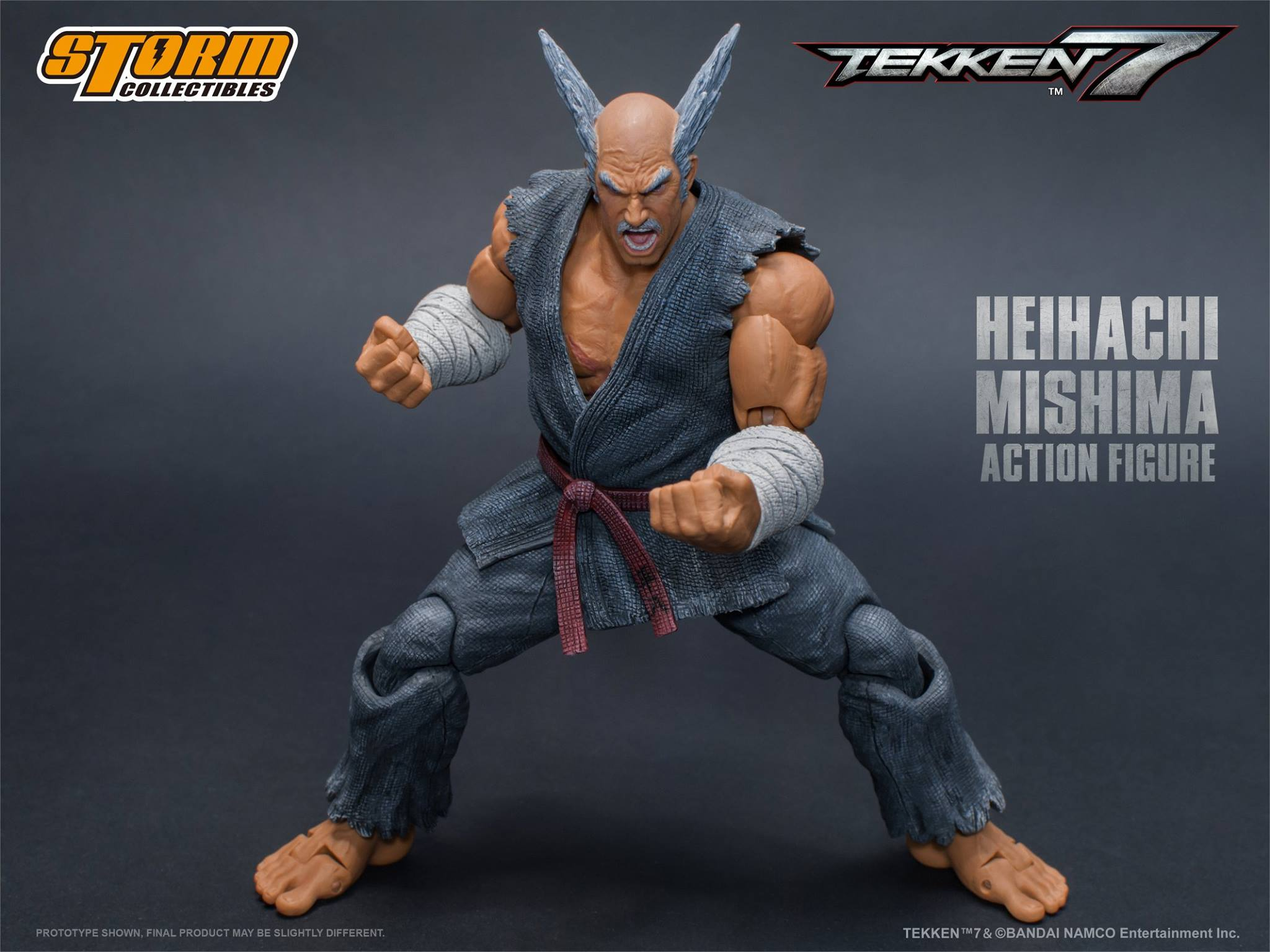 Tekken heihachi electric wind god fist