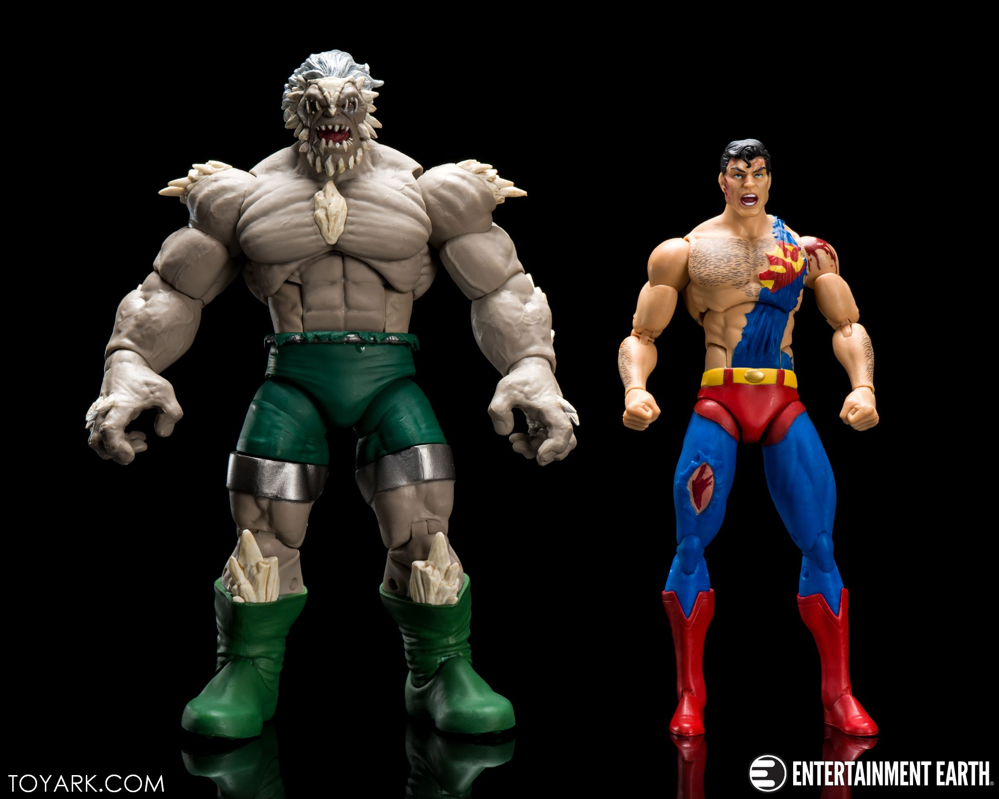 Dc Icons Superman Doomsday 2 Pack Photo Review The Toyark News