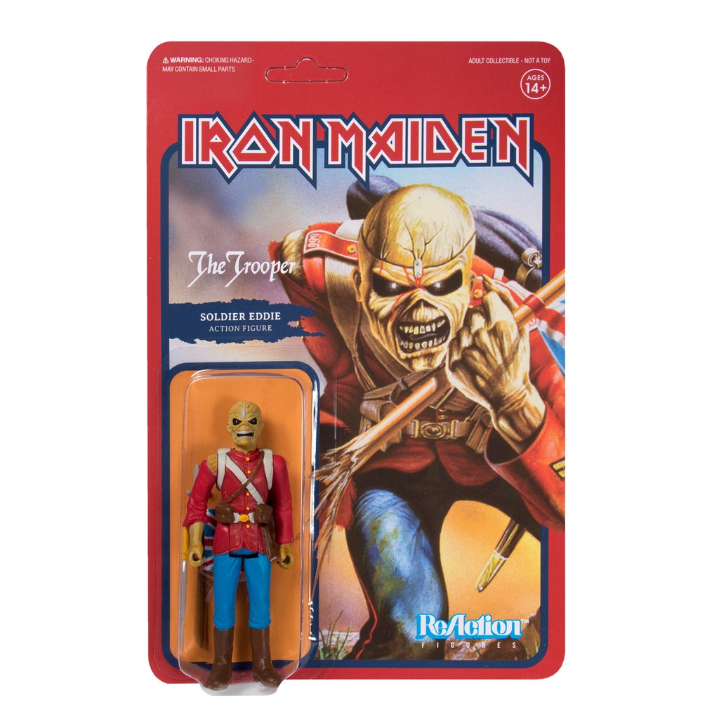 Iron Maiden Reaction Figures Available Now The Toyark News