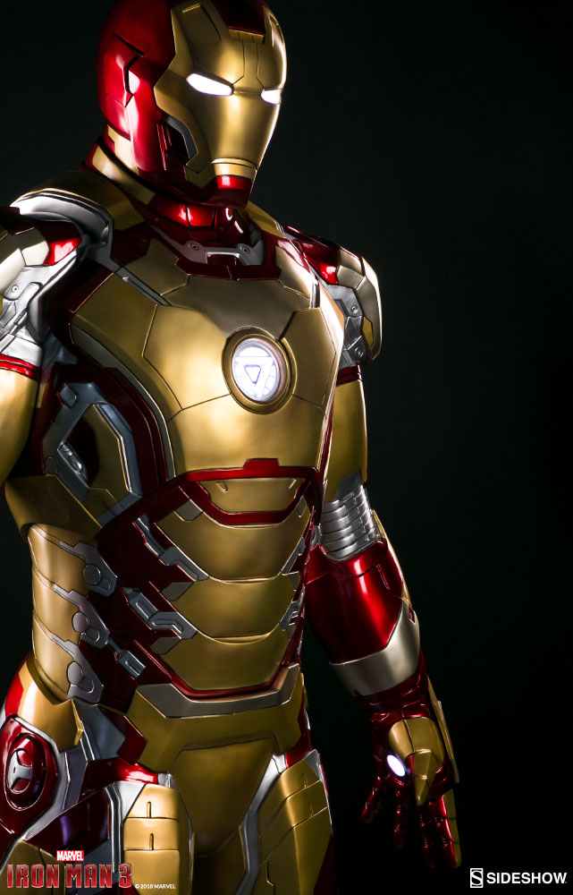 Pre-Orders Live For Life Size Iron Man Mark 42 by Sideshow ...