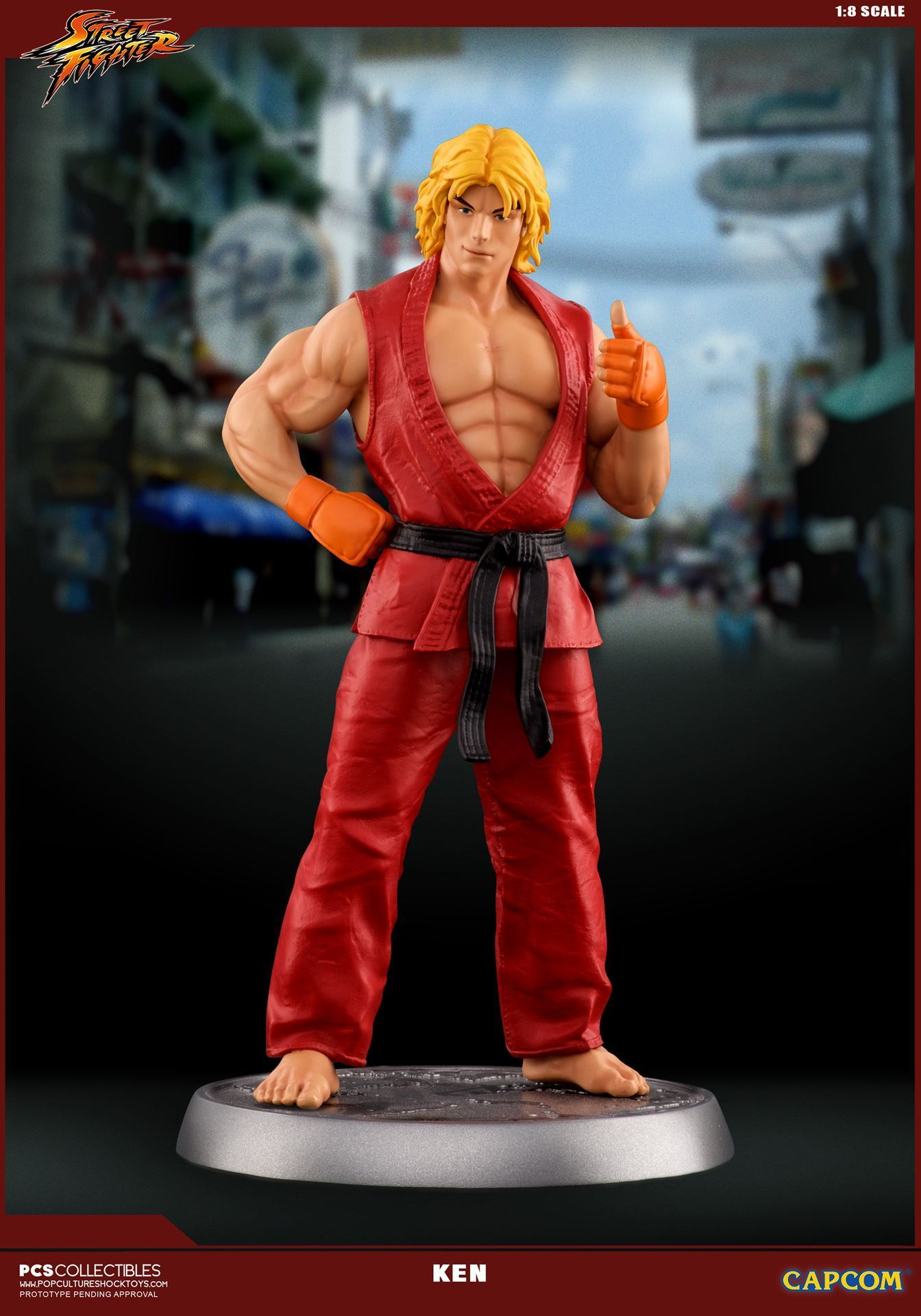 Street Fighter Ken 1 8 Scale Statue By Pcs Toys The Toyark News