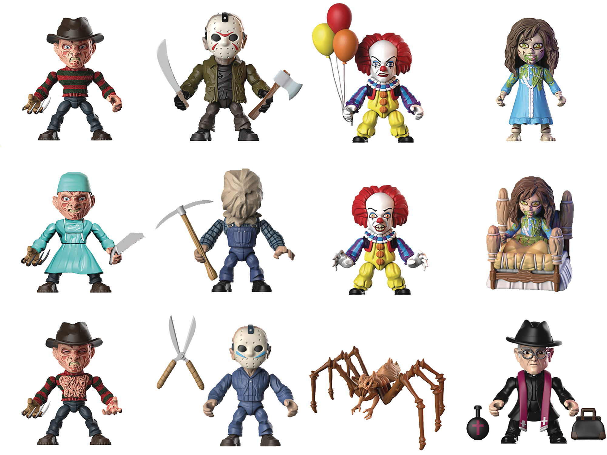 New Horror Aliens And Mega Man Figures By The Loyal