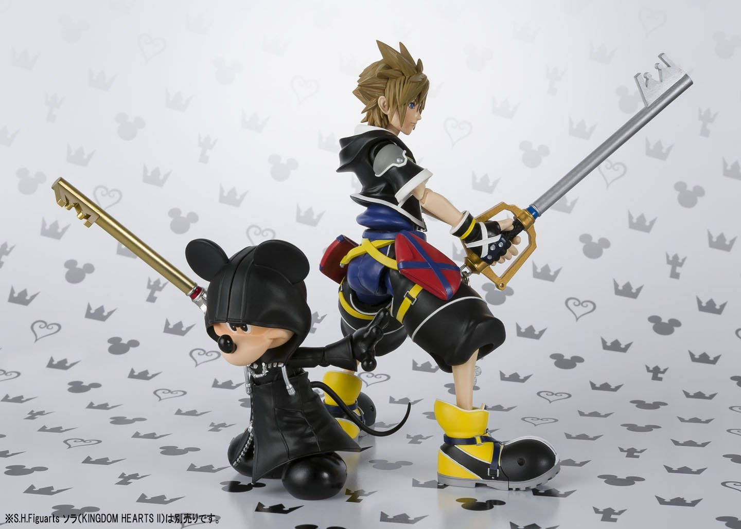 SH Figuarts Kingdom Hearts Mickey Mouse and Sora are Amazon Exclusives - The Toyark - News