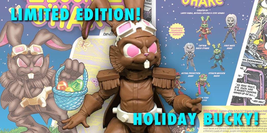 Bucky O'Hare - Special Chocolate Bunny Edition by Boss Fight Studio - The Toyark - News