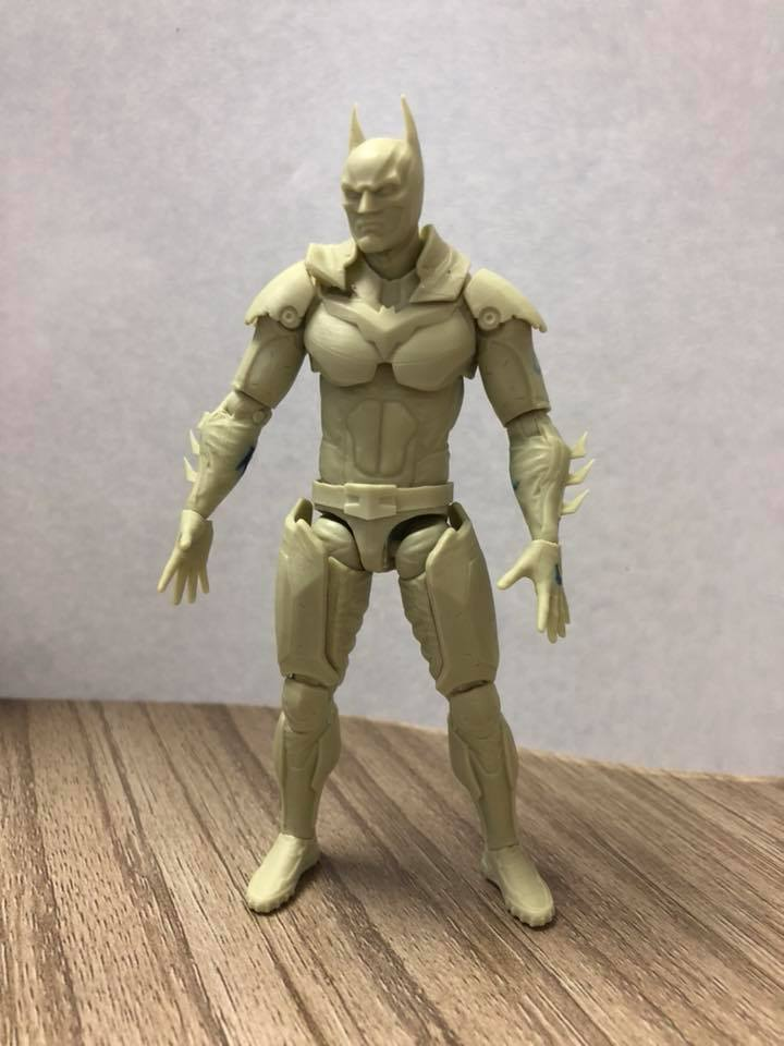 Toys For Injustice : Injustice batman figure prototype by hiya toys the