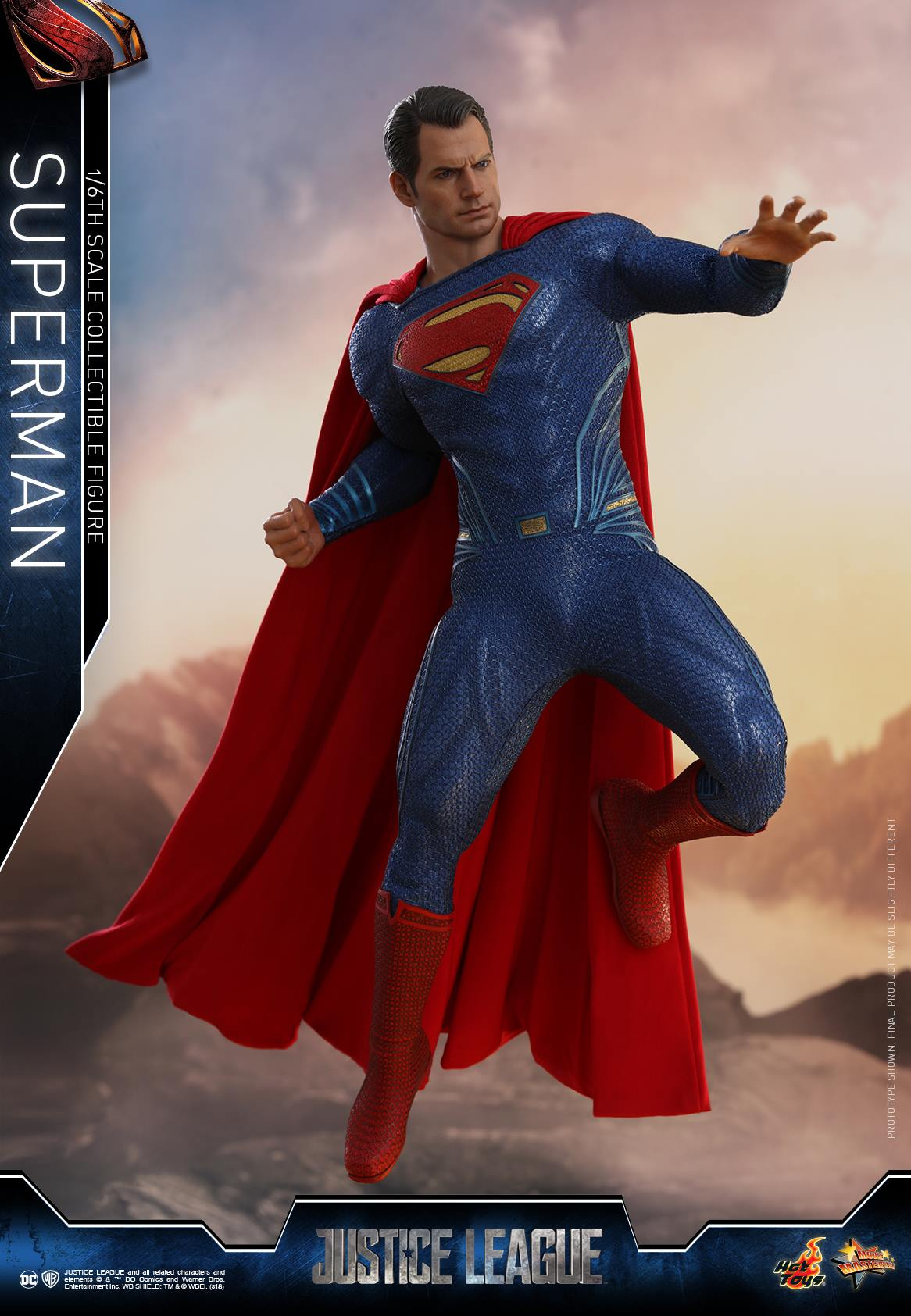 Not Toys For 2018 From Moive : Justice league movie superman by hot toys the toyark news