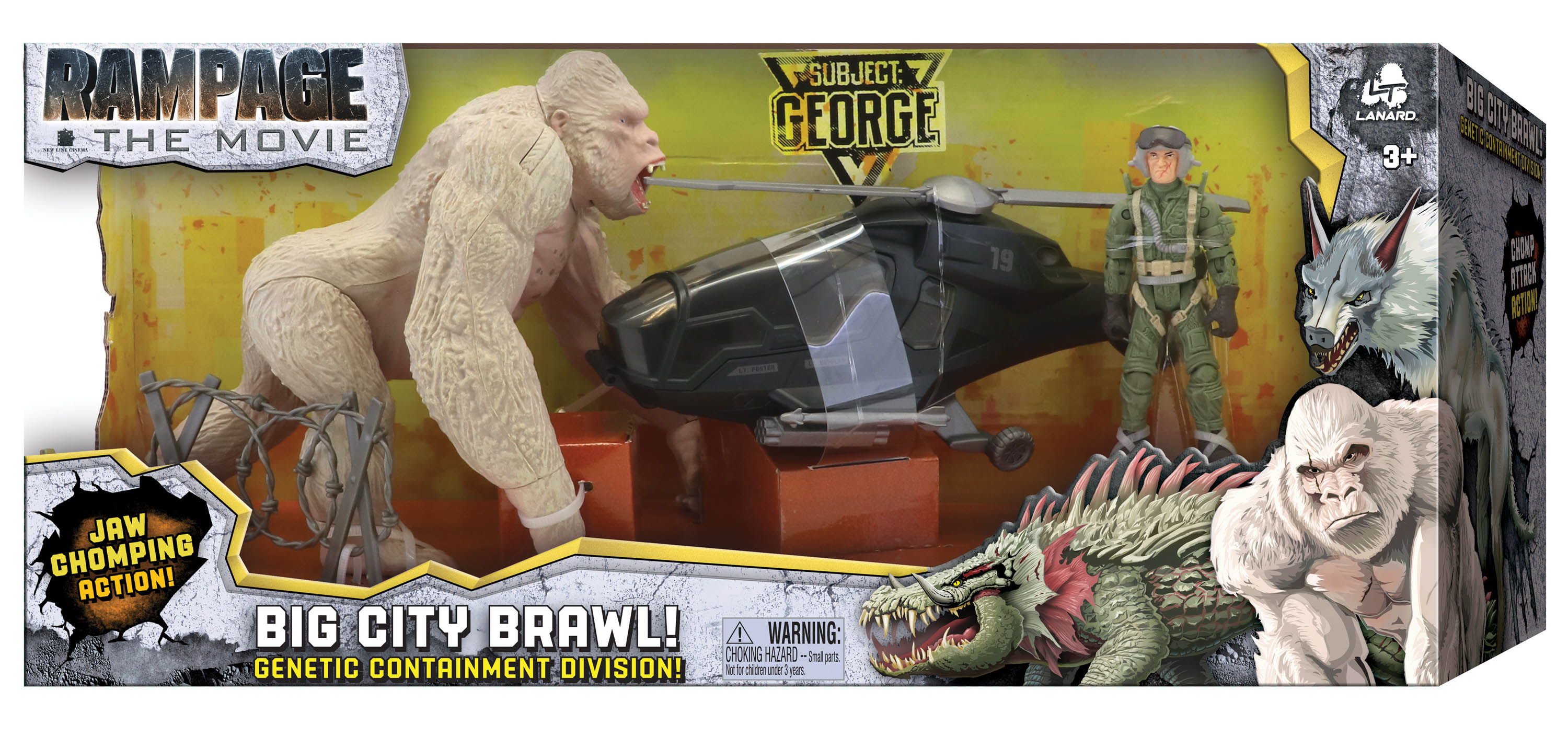 Rampage Movie Toys Revealed By Lanard Toys The Toyark News