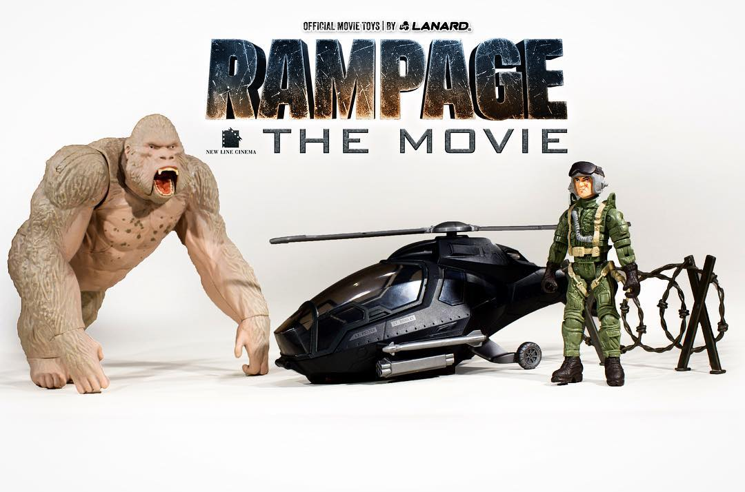 Rampage 2018 Ralph >> Official Website Launched for Rampage Movie Toys - The Toyark - News