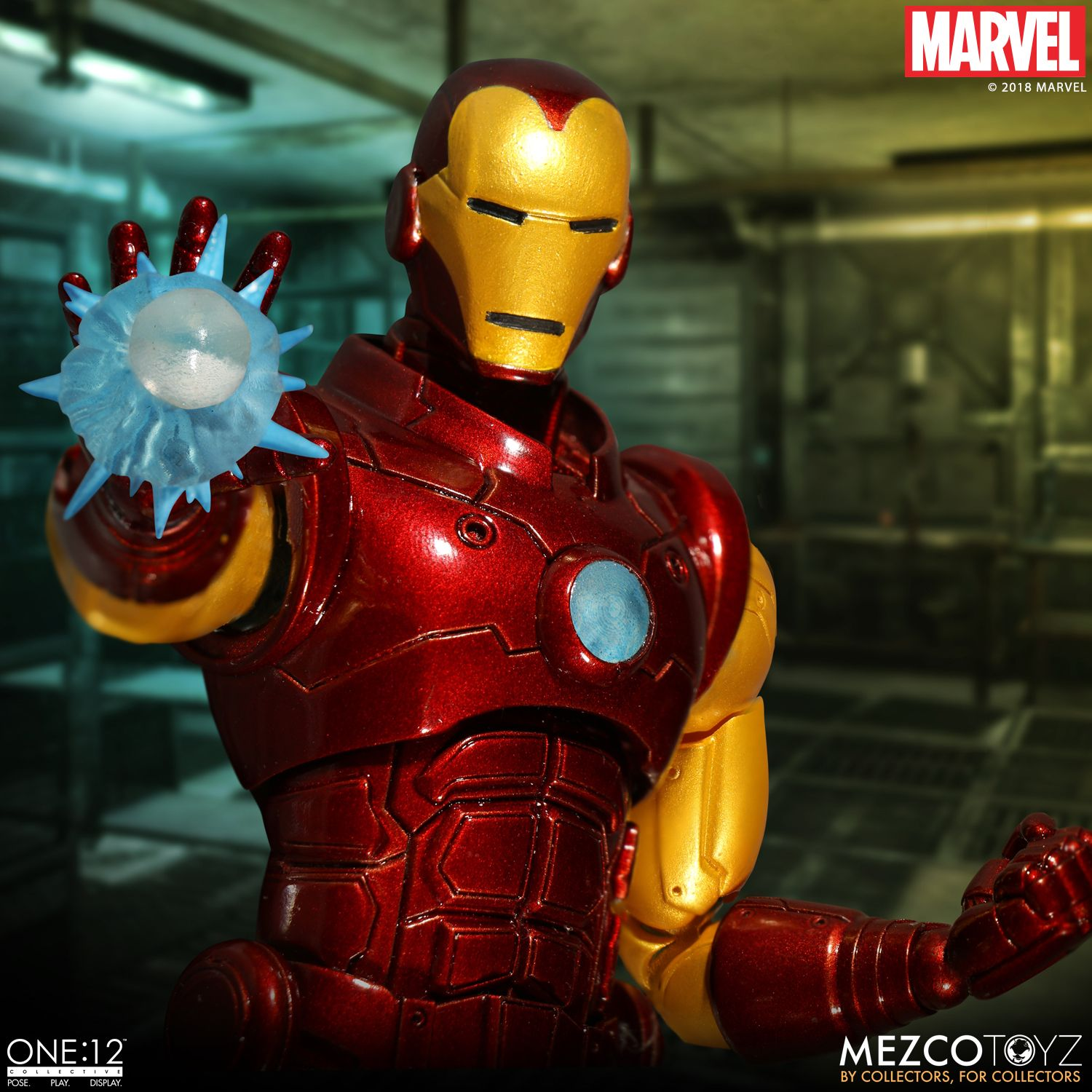 mezco toyz iron man one 12 collective figure available to. Black Bedroom Furniture Sets. Home Design Ideas