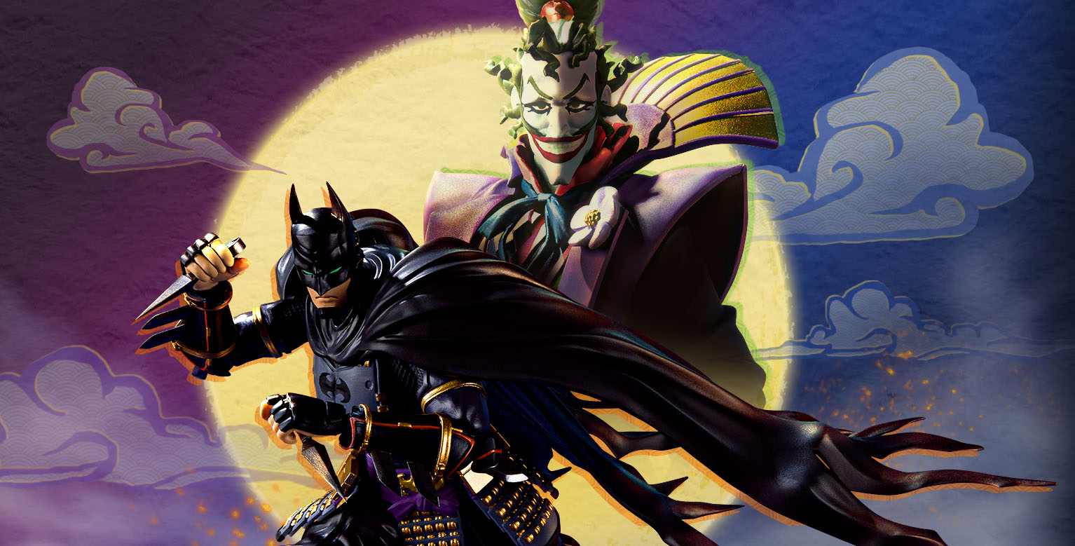 official photos and details for ninja batman and devil joker sh
