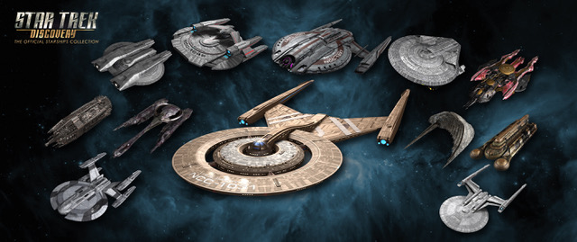 Eaglemoss Collections Star Trek Discovery Ships Revealed