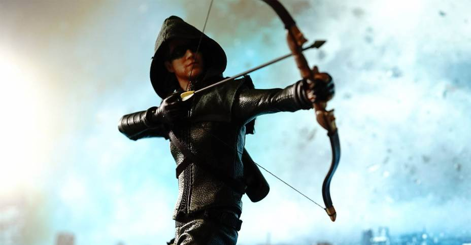 Soap Studio Dc Tv The Flash And Green Arrow Figures The