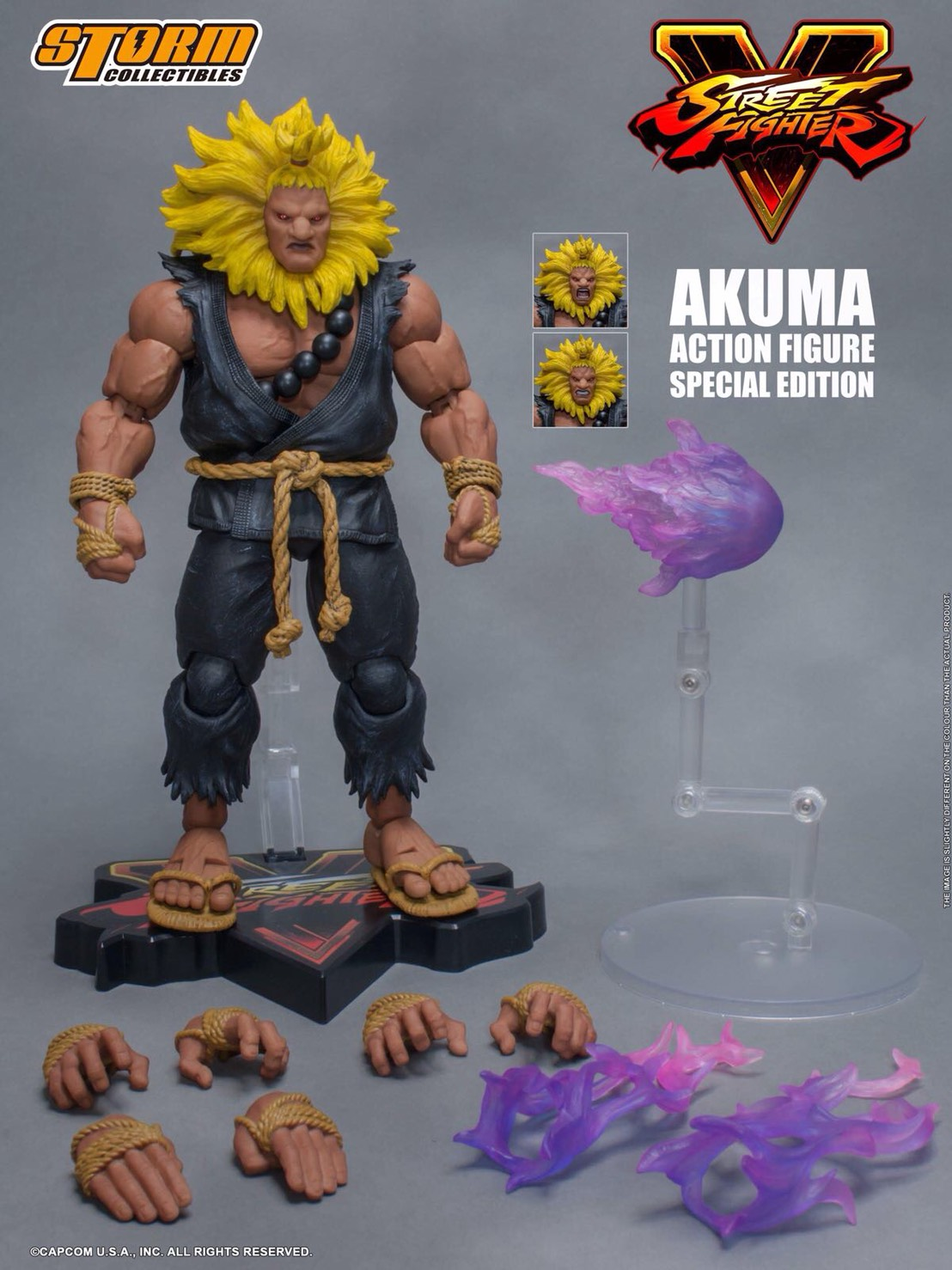 Street Fighter V Akuma Special Edition Figure by Storm Collectibles