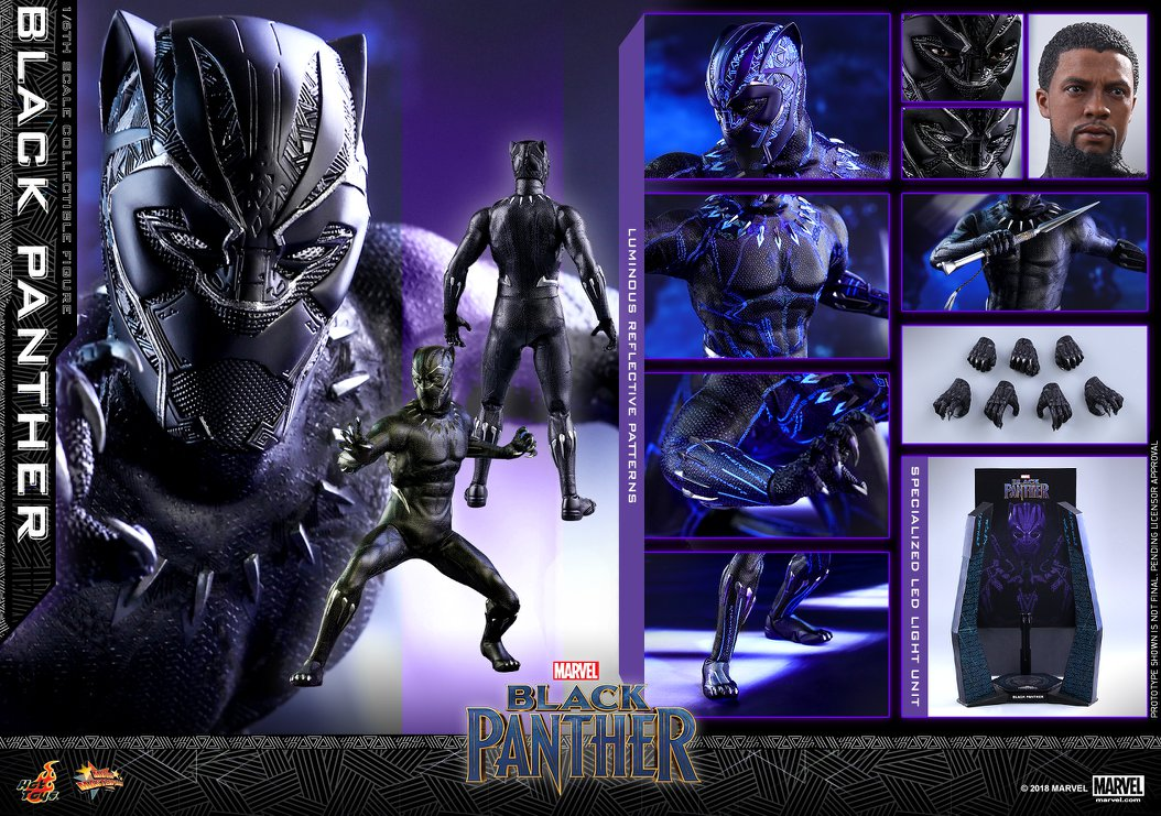 Not Toys For 2018 From Moive : Hot toys black panther toy discussion at toyark