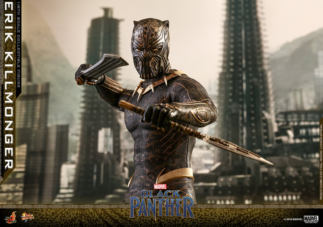 Black Panther Killmonger 16 Scale Figure By Hot Toys