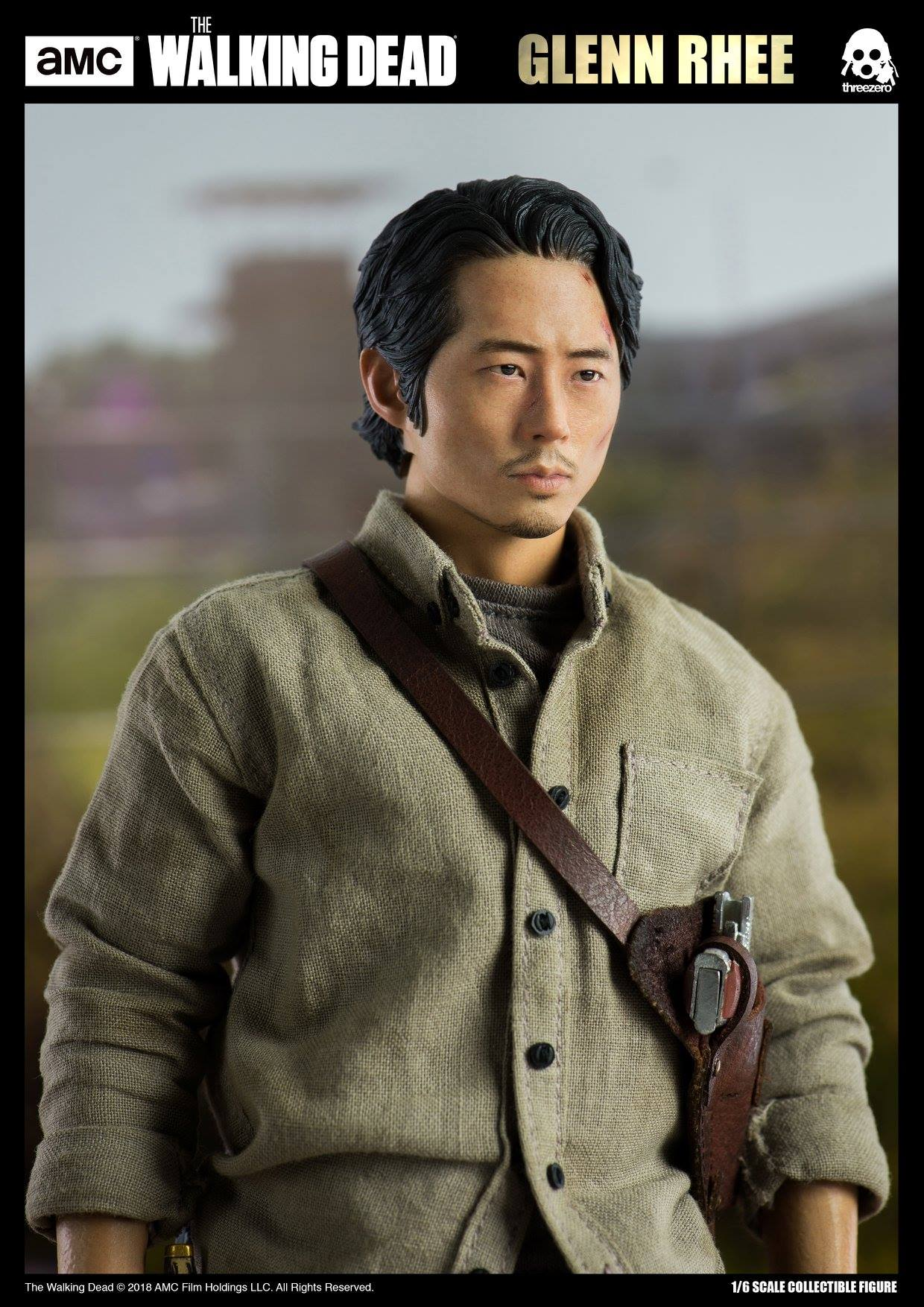 ThreeZero The Walking Dead – Glen Rhee 1/6 Scale Figure ...