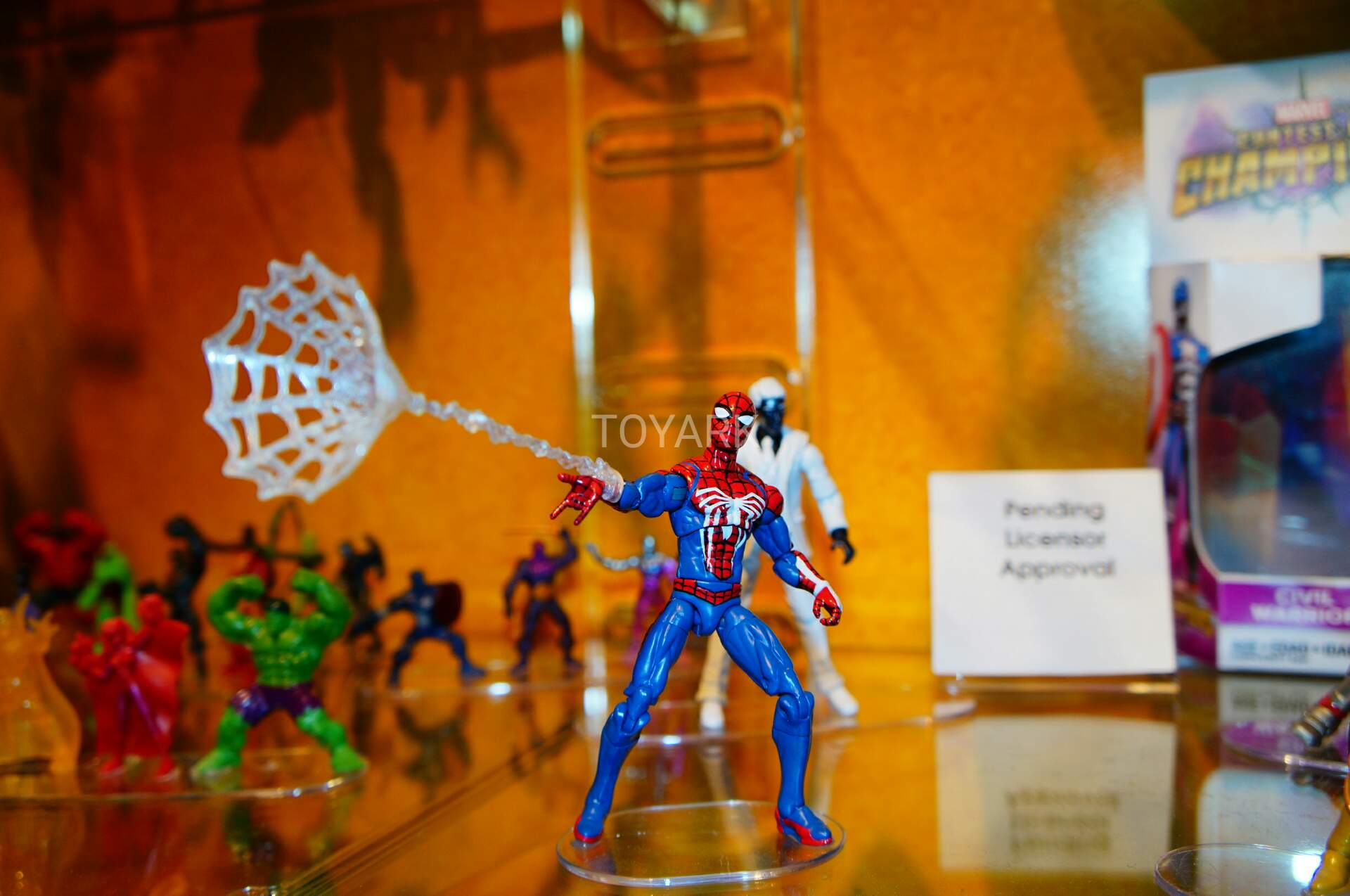 Not Toys For 2018 From Moive : Toy fair hasbro marvel video game inch figures