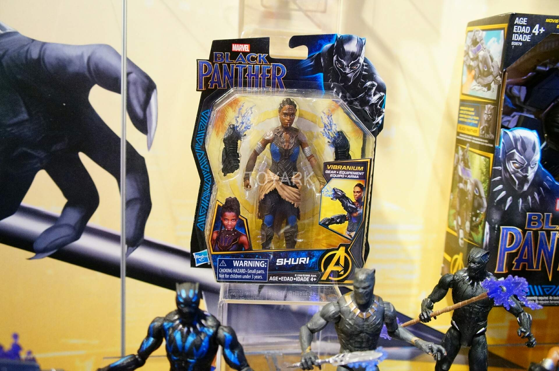 Not Toys For 2018 From Moive : Toy fair hasbro marvel black panther and spider man