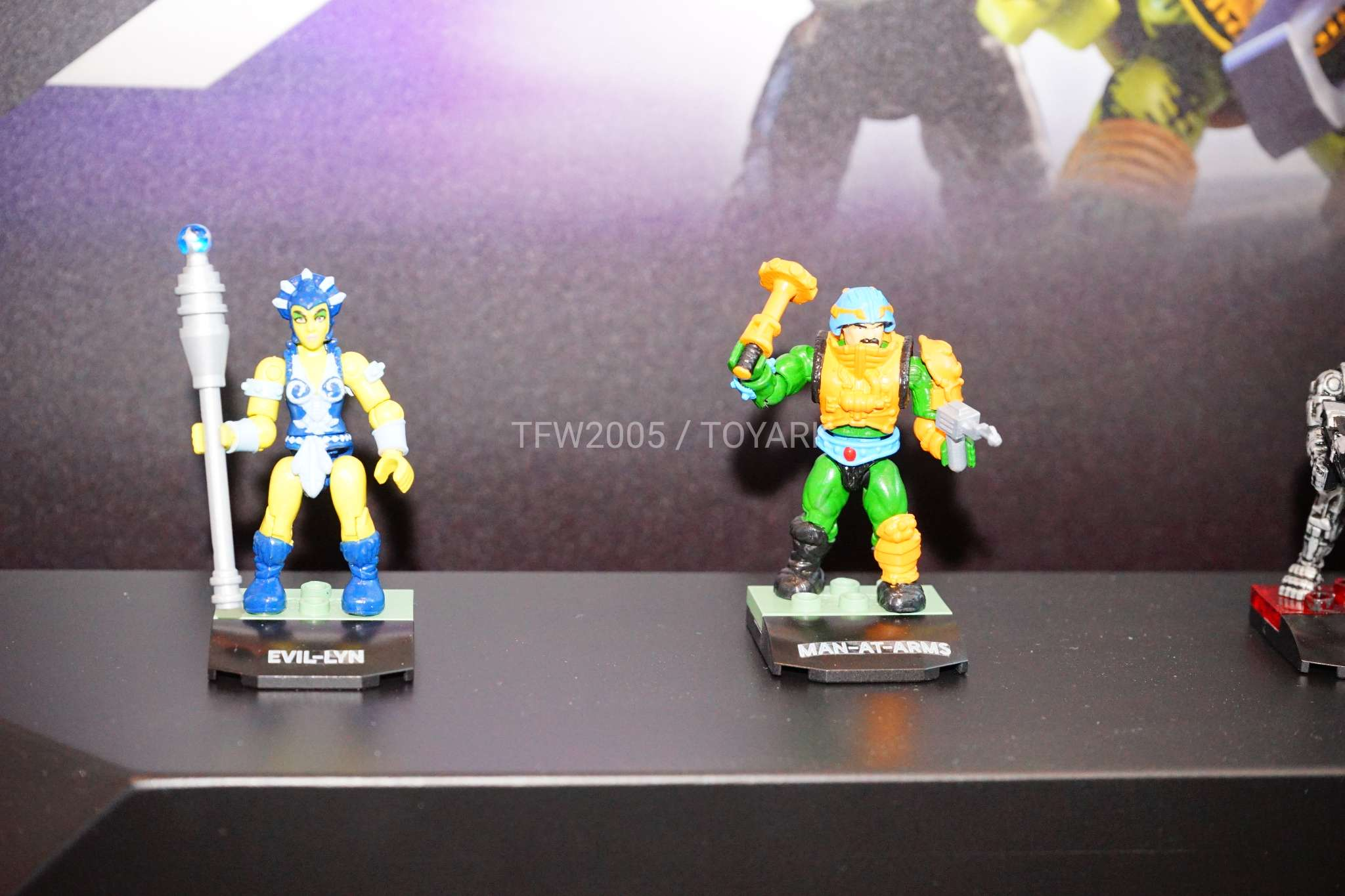 Masters of the Universe Mega Construx 5-Pack and Wind Raider Pre