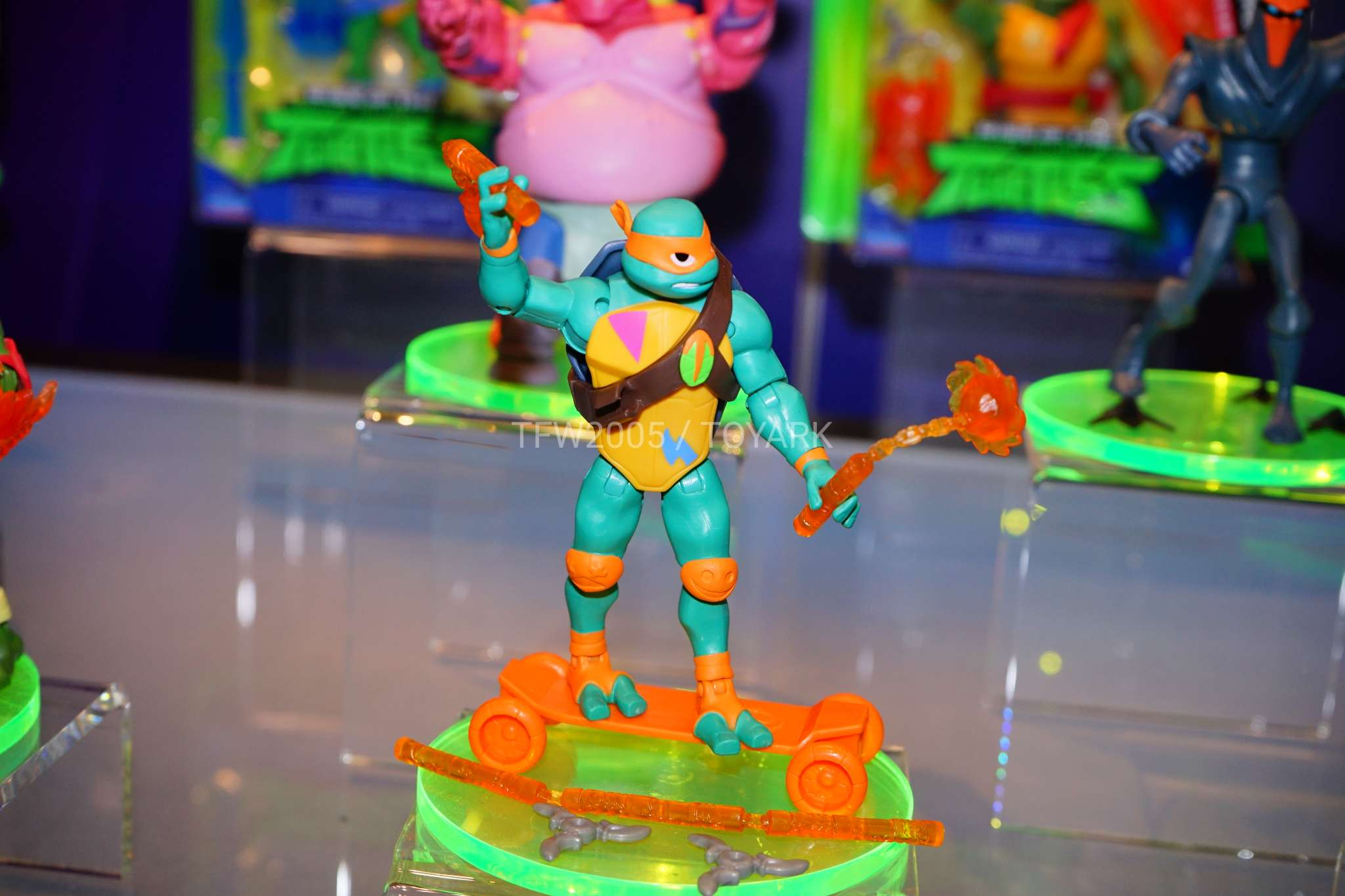 toy fair 2018 gallery playmates rise of the teenage