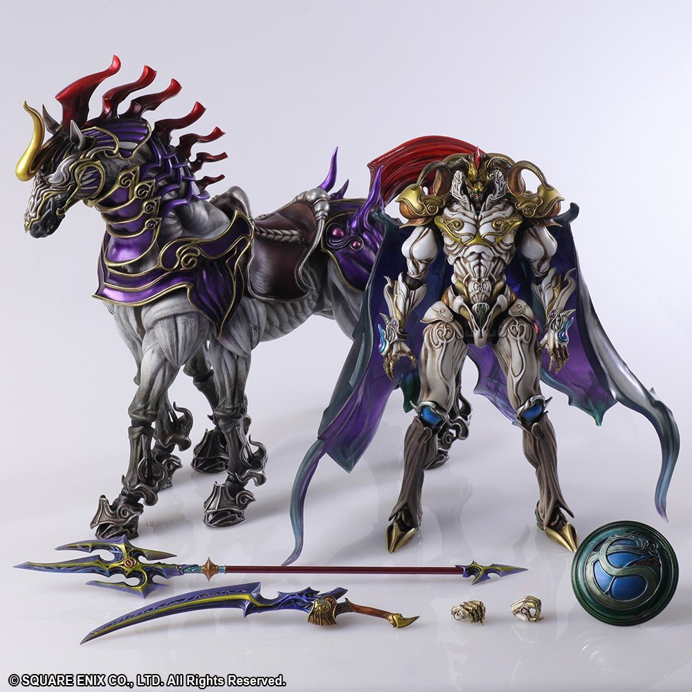 Final Fantasy Creatures Bring Arts Odin and Sleipnir - Toy ...