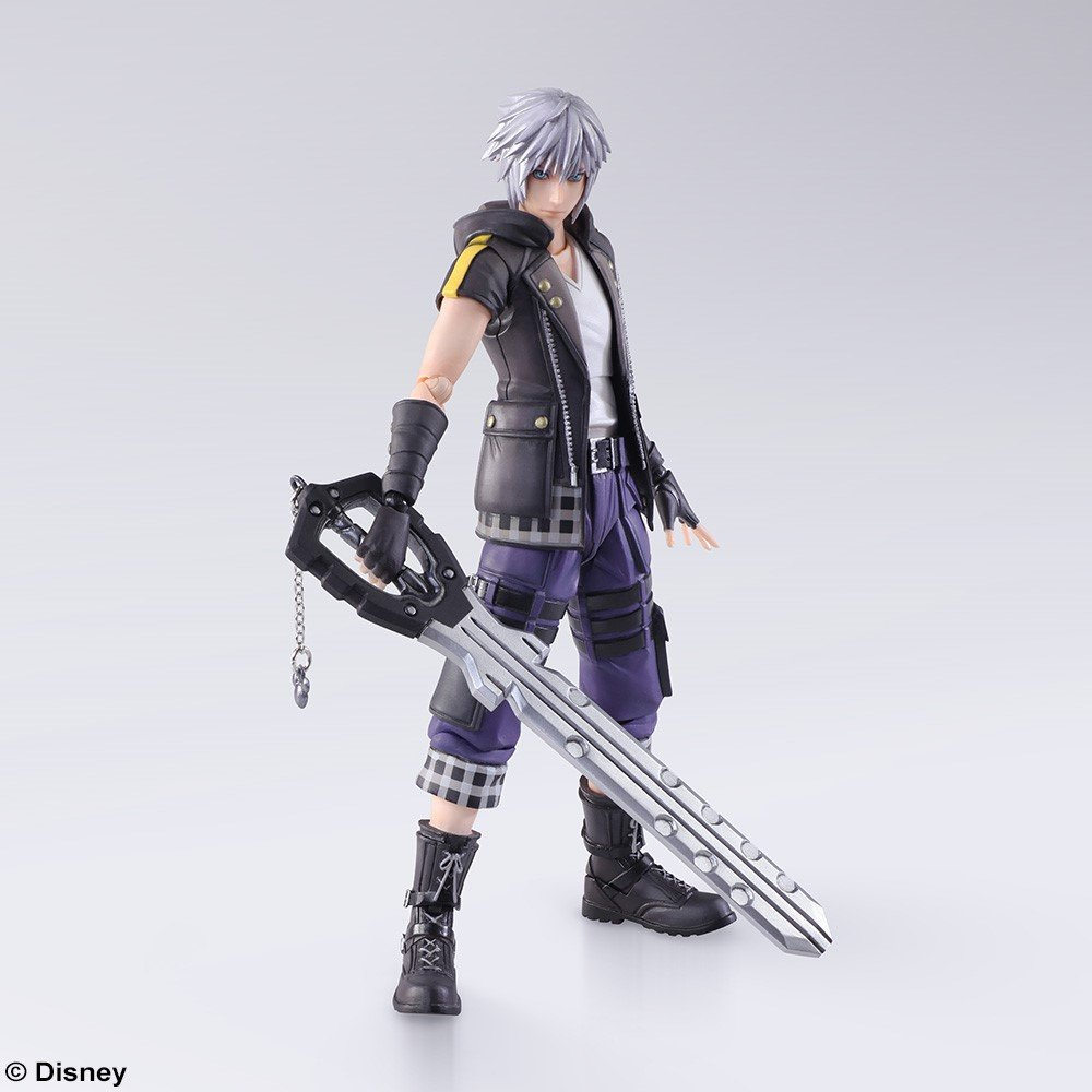 kingdom hearts iii bring arts riku figure the toyark news