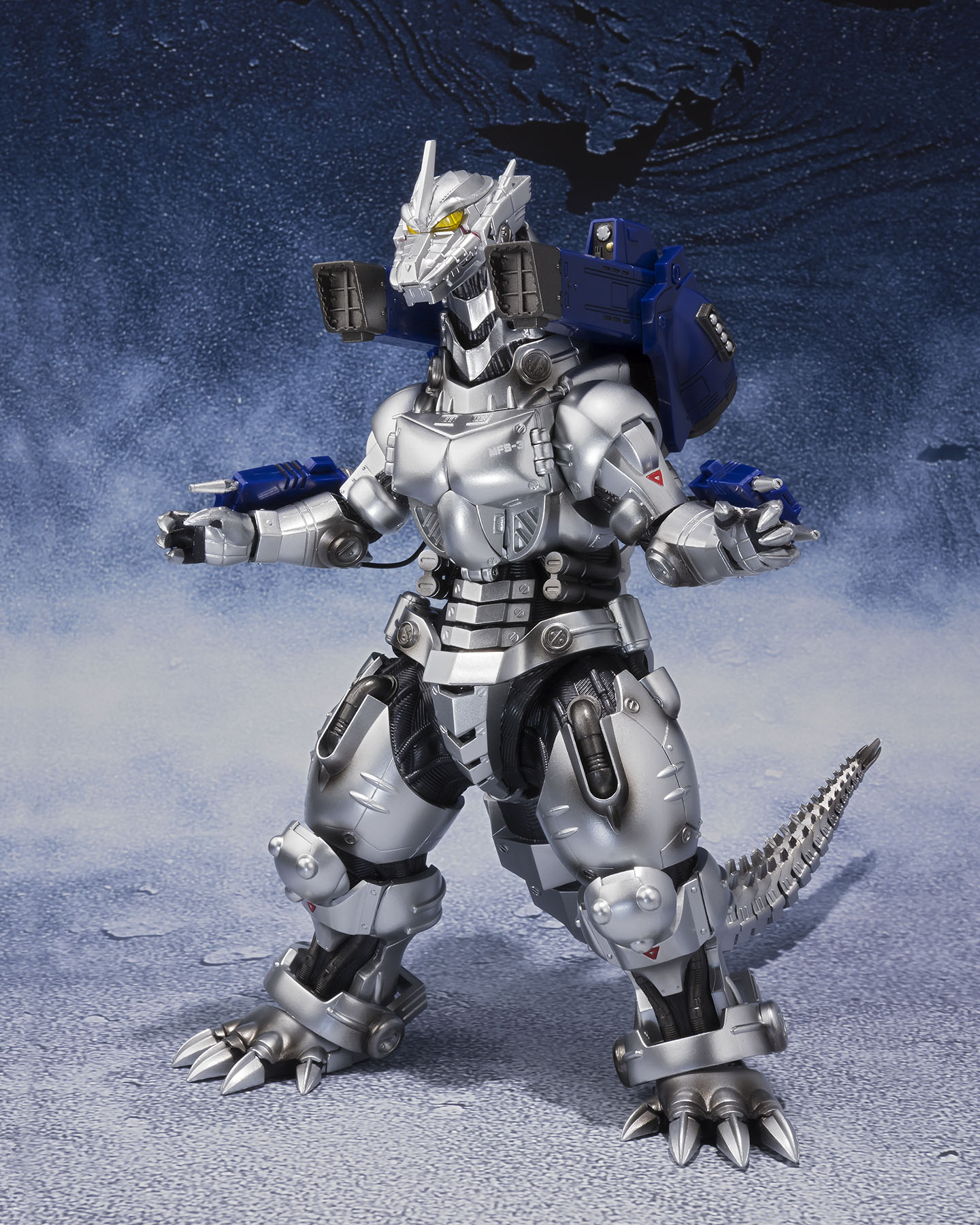 S.H. MonsterArts MFS-3 Type 3 Kiryu Mechagodzilla Final ...Kiryu Mechagodzilla
