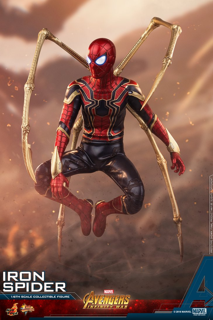 Avengers Infinity War Iron Spider 1 6 Scale Figure By