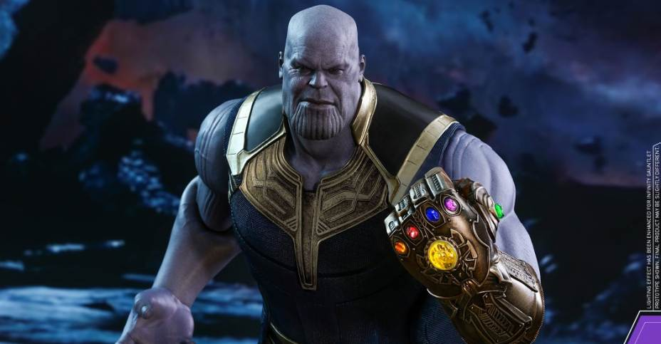 Avengers Infinity War Thanos Figure By Hot Toys The