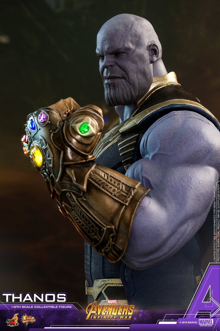 The Infinity Wart Saga Part 1 Issue: Thanos Figure By Hot Toys
