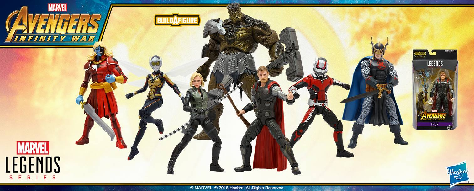 Marvel Legends Build A Figure  Waves