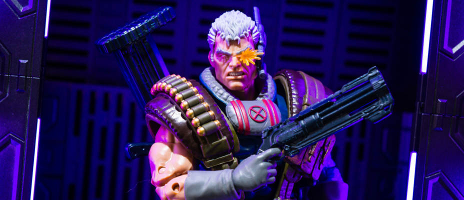 Marvel Legends Cable Photo Shoot