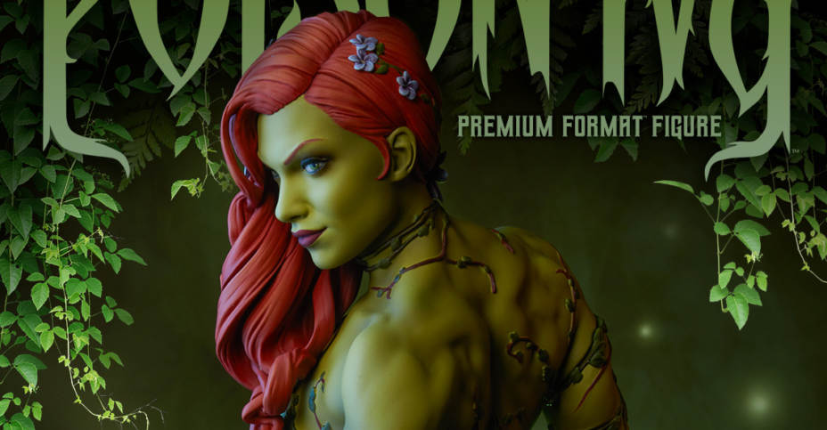 Premium Format Poison Ivy Statue by Sideshow Collectibles ...