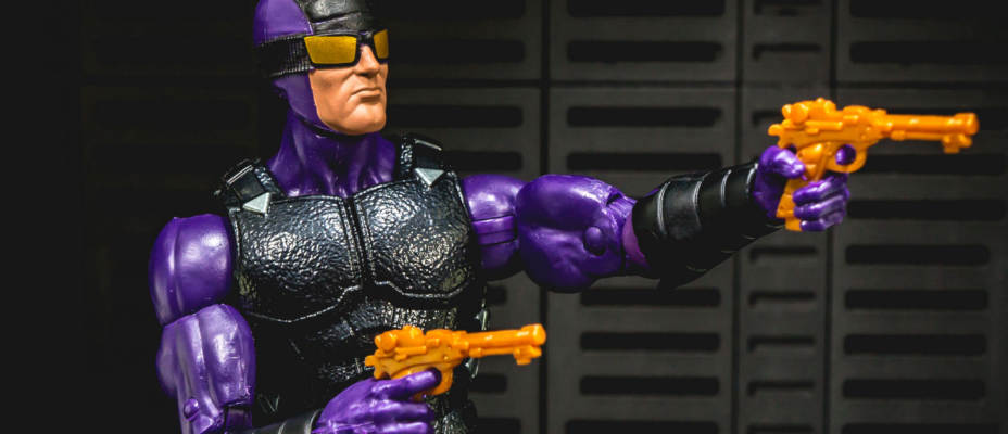 Marvel Legends Paladin Deadpool Wave Photo Shoot