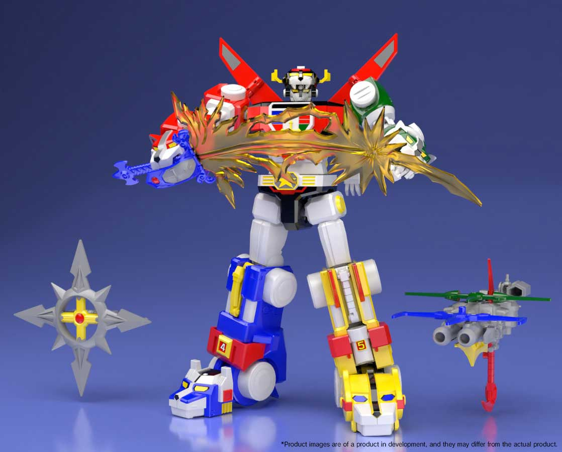 SDCC 2018 Exclusive Bandai Shokugan Super MiniPla Voltron ...