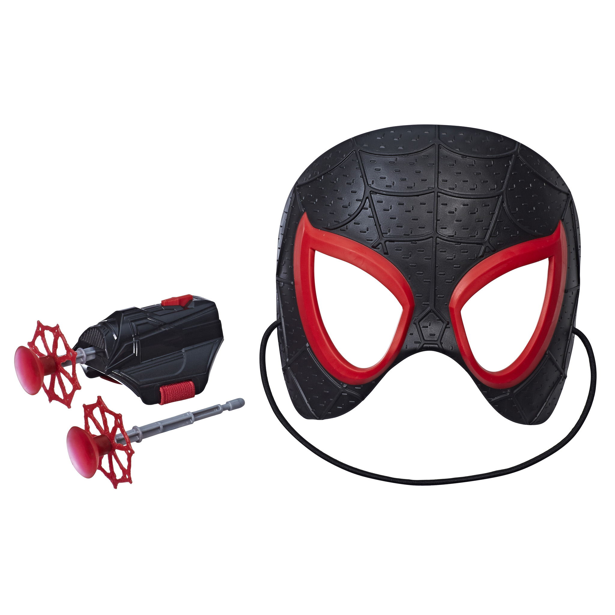 Since Miles is starring in Into the SpiderVerse hes getting a few bigger roleplaying toys from Hasbro as well The Into the SpiderVerse Hero FX Mask