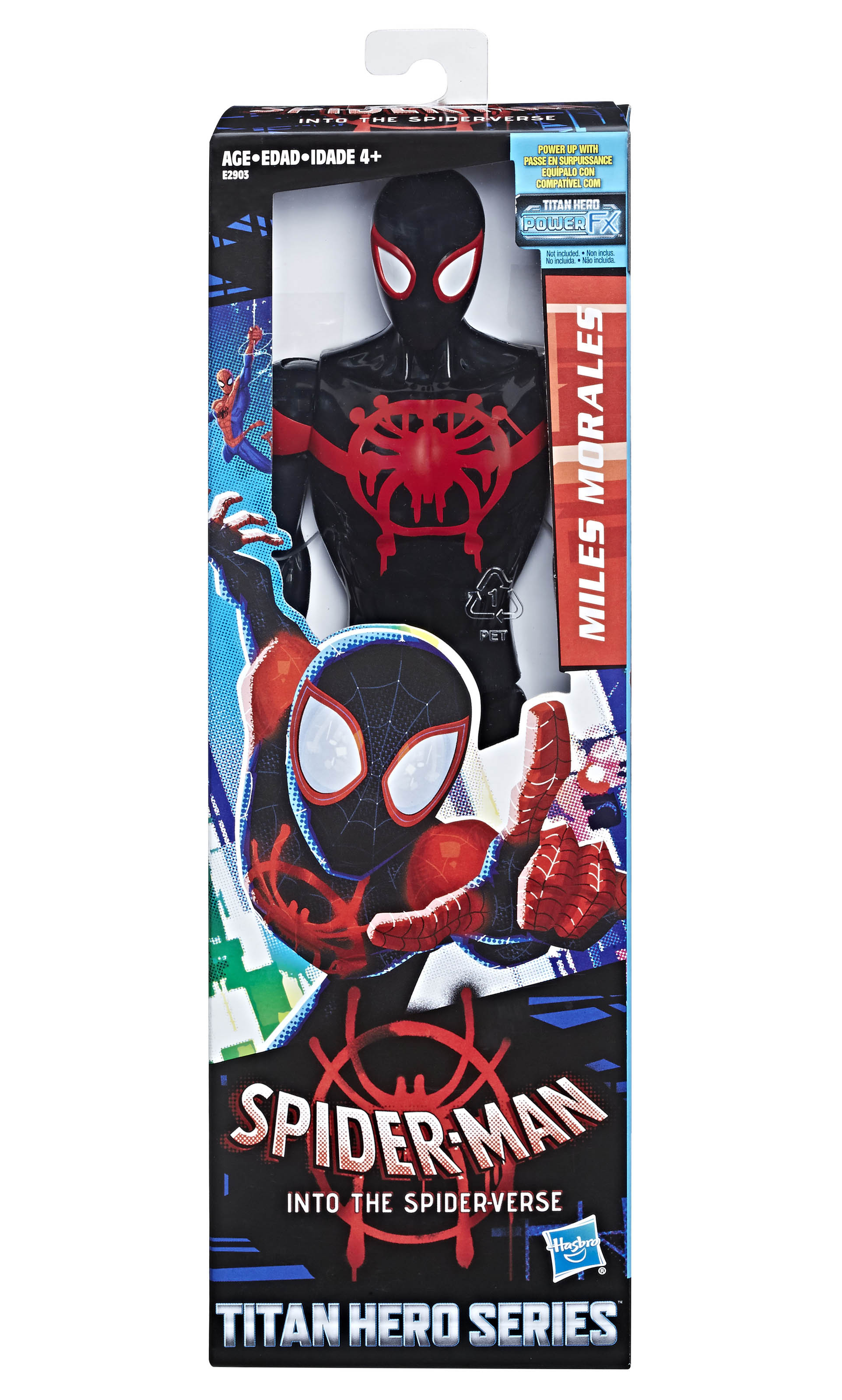 Press Release Hasbro Spider Man Into The Spiderverse Kids Toys Spiderman Marvel Verse Titan Hero 12 Inch Figure In Pkg
