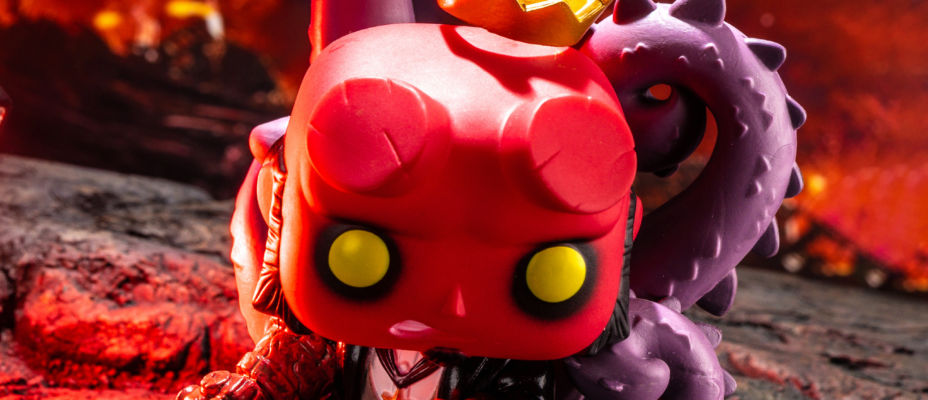 Entertainment Earth Exclusive Hellboy POP! In-Hand Gallery!
