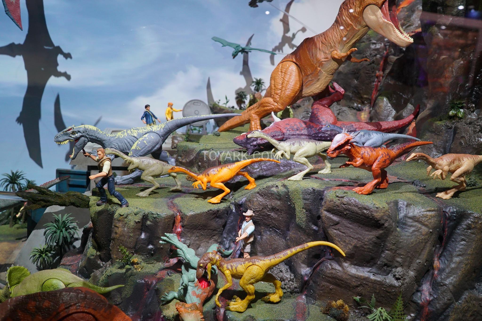 SDCC2018 Gallery Mattel Jurassic World Display The