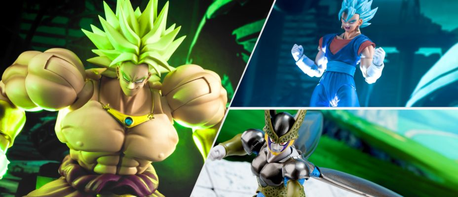 Broly, Cell & Vegito - S.H. Figuarts SDCC / Dragonball Tour Exclusives Closer Look