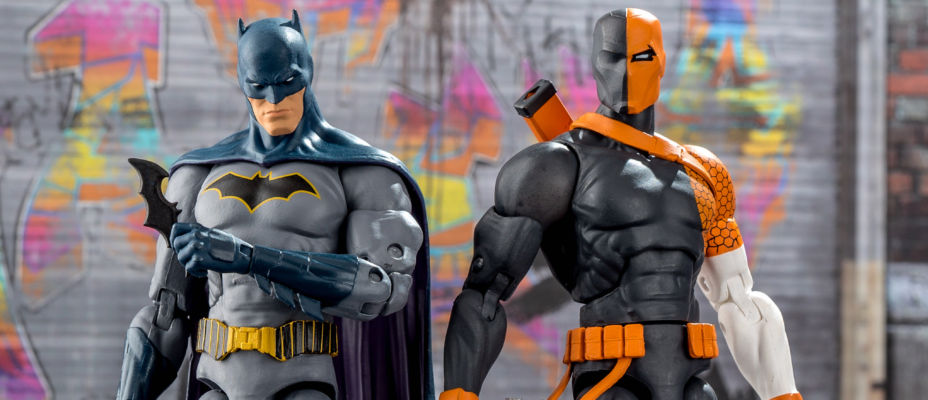 DC Essentials Batman and Deathstroke Photo Review