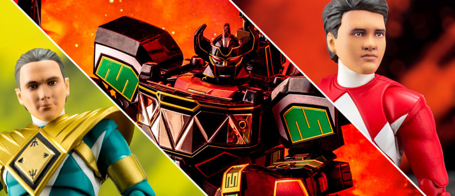 Quick Look - SDCC SHF & SoC Power Rangers Exclusives