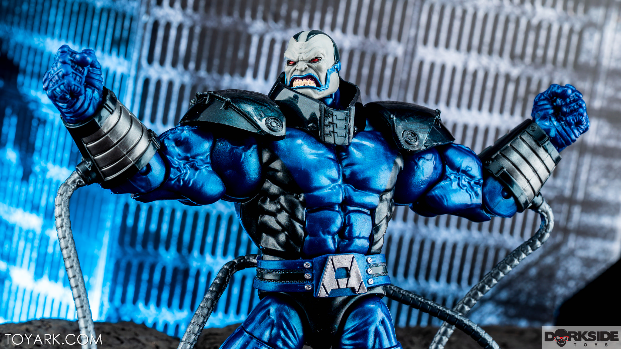 Marvel Legends Apocalypse and Wolverine Photo Shoot - The
